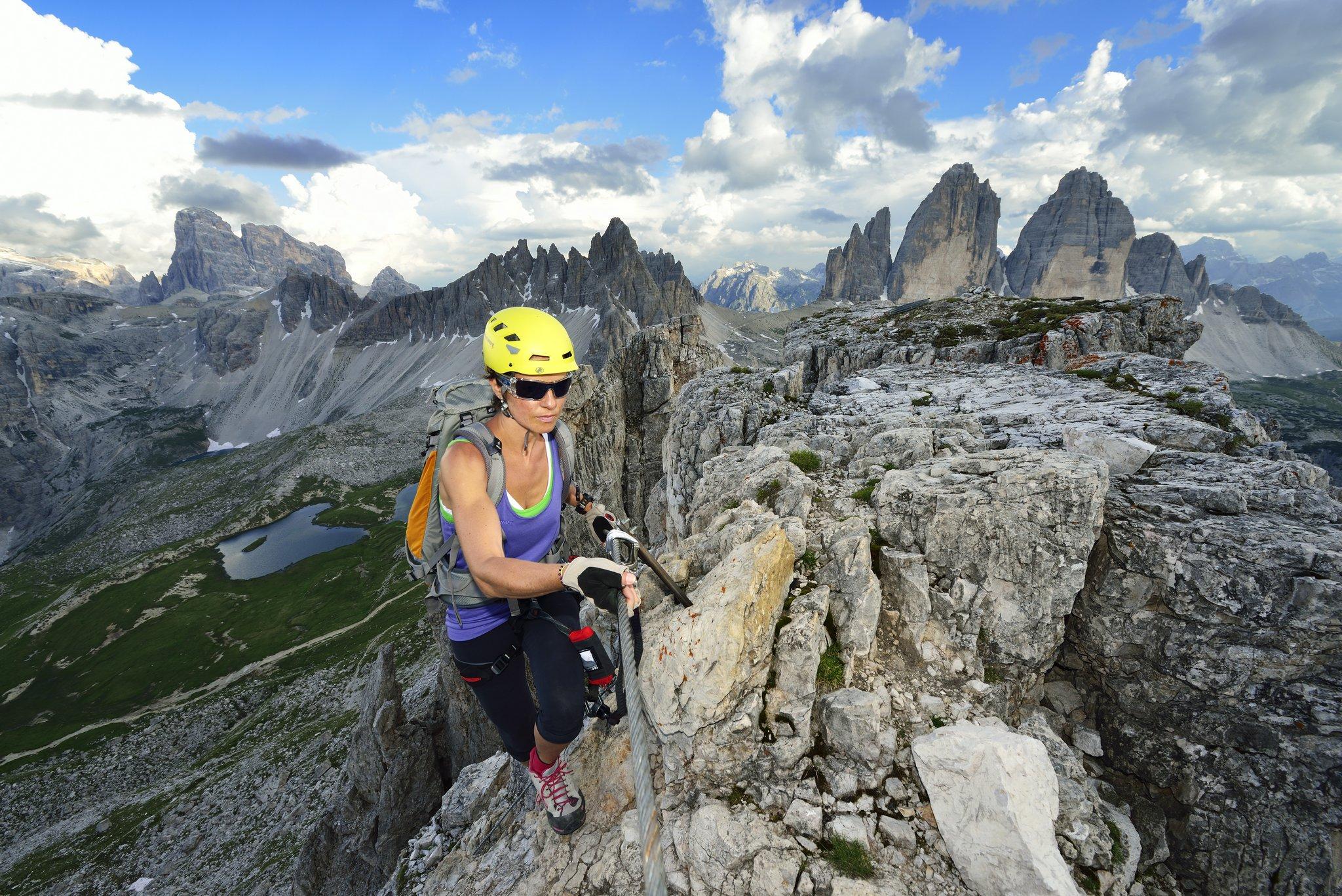 Klettersteig Drei Zinnen : Klettersteige dolomiten u sexten drei zinnen i südtirol